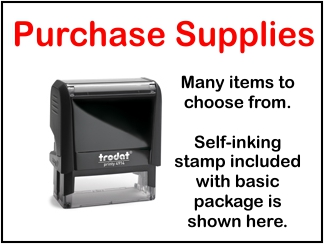 Purchase Notary Supplies